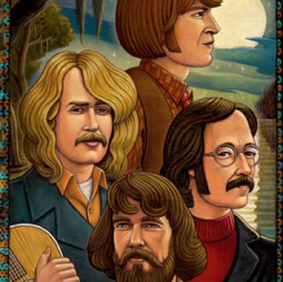 Creedence Clearwater Revival MIDI files backing tracks