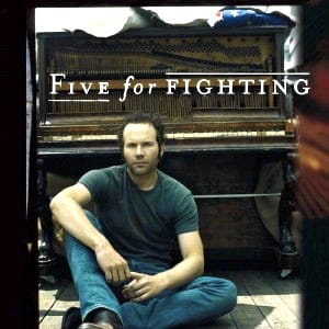 Five For Fighting MIDI files backing tracks