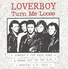 Turn Me Loose Loverboy midi file backing track karaoke