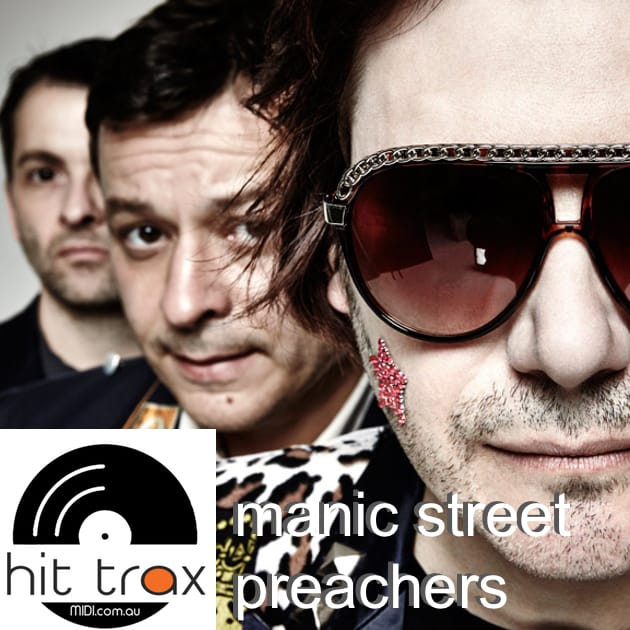 Manic Street Preachers MIDI files backing tracks