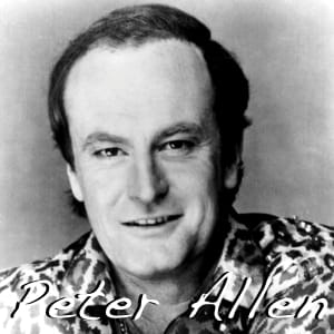 Peter Allen MIDI files backing tracks karaoke MIDIs