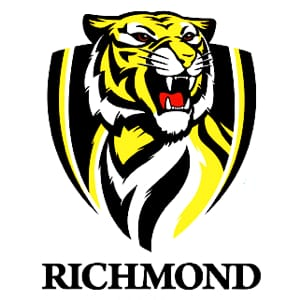 oh we're from tigerland richmond football club song midi file backing track karaoke