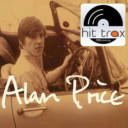 just for you alan price midi file backing track karaoke