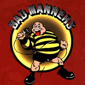 just a feeling bad manners midi file backing track karaoke