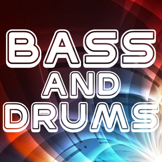 west is the way (bass & drums) stars midi file backing track karaoke