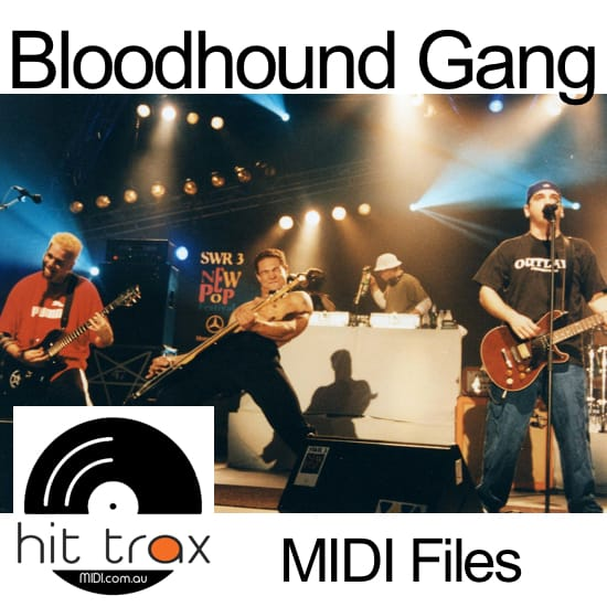 Bloodhound Gang MIDI files backing tracks