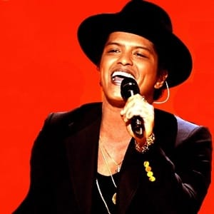 treasure (live version) bruno mars midi file backing track karaoke
