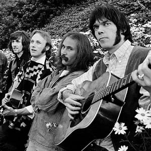 Crosby, Stills, Nash And Young MIDI files backing tracks