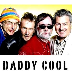 Daddy Cool MIDIfile Backing Tracks