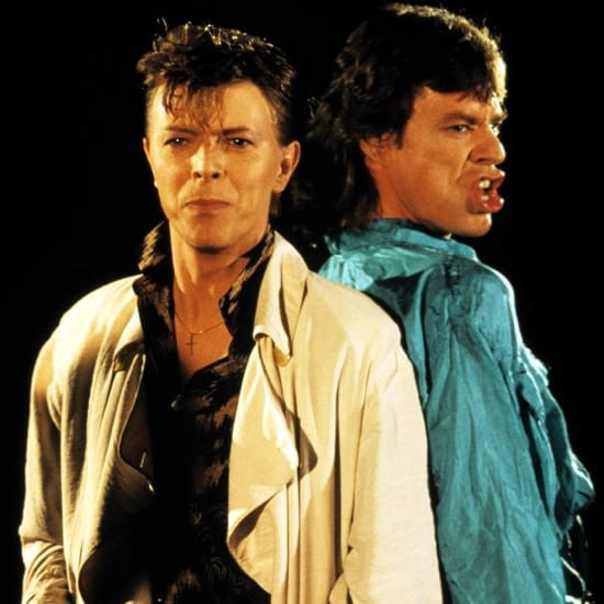 David Bowie And Mick Jagger MIDI files backing tracks