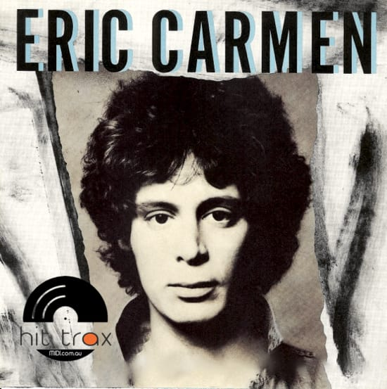 it hurts too much eric carmen midi file backing track karaoke