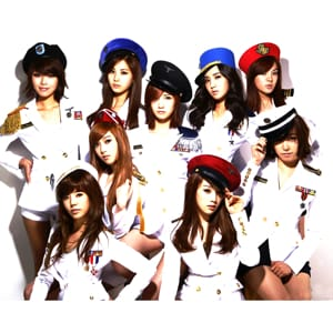 Girls Generation MIDI files backing tracks