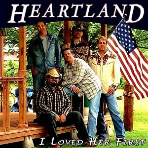 i loved her first heartland midi file backing track karaoke