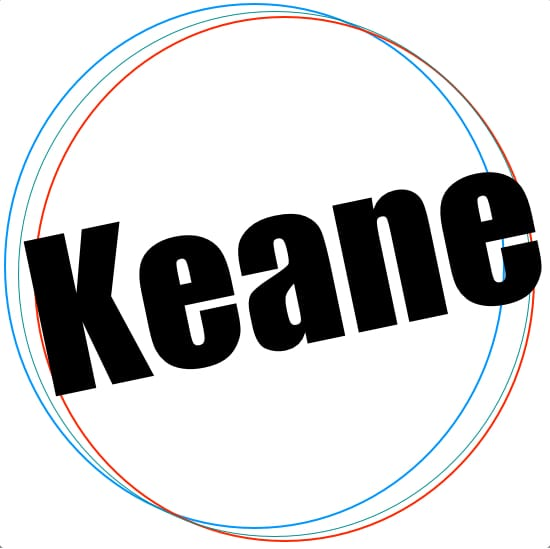 Keane MIDI files backing tracks