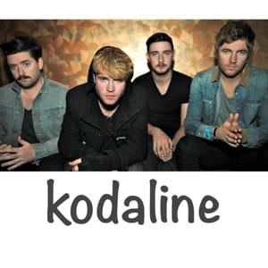 Kodaline MIDI files backing tracks