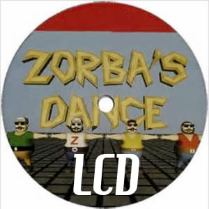 Zorbas Dance Lcd midi file backing track karaoke