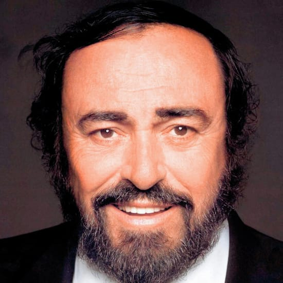 Luciano Pavarotti MIDI files backing tracks