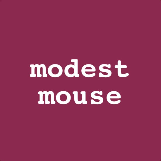 Modest Mouse MIDI files backing tracks