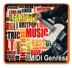 MIDI File Genres