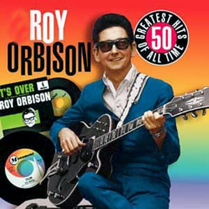 California Blue Roy Orbison midi file backing track karaoke