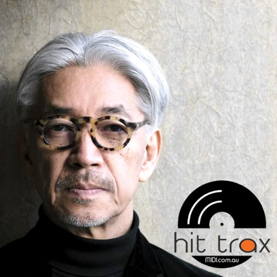 Ryuichi Sakamoto & Iggy Pop MIDI files backing tracks karaoke MIDIs