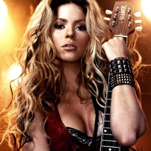 loca shakira midi file backing track karaoke
