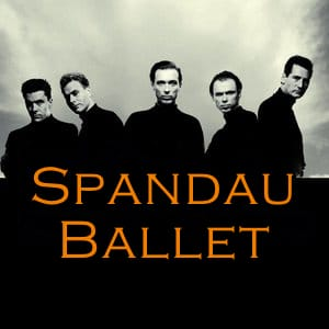 Spandau Ballet MIDI files backing tracks