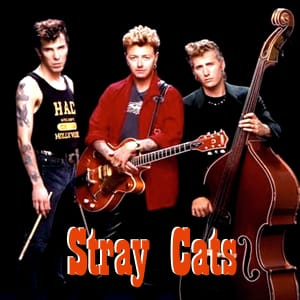 rock this town stray cats midi file backing track karaoke