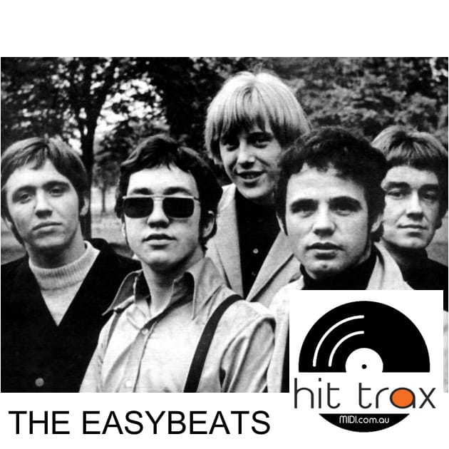 The Easybeats MIDI files backing tracks karaoke MIDIs