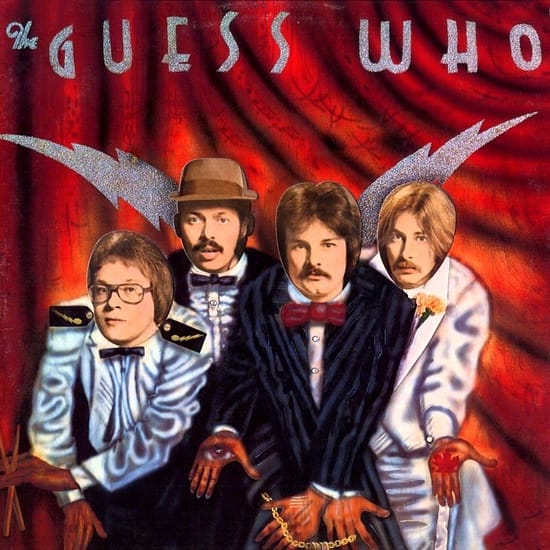 The Guess Who MIDI files backing tracks