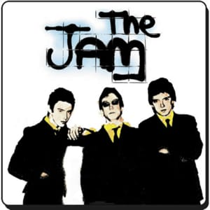 Down In The Tube Station At Midnight The Jam midi file backing track karaoke