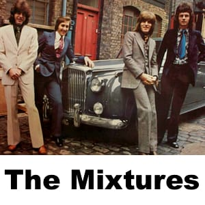 The Mixtures MIDI files backing tracks