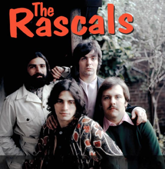 The Rascals MIDI files backing tracks