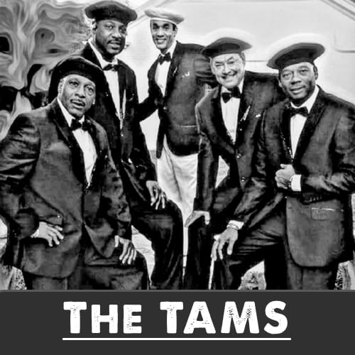 The Tams MIDI files backing tracks karaoke MIDIs