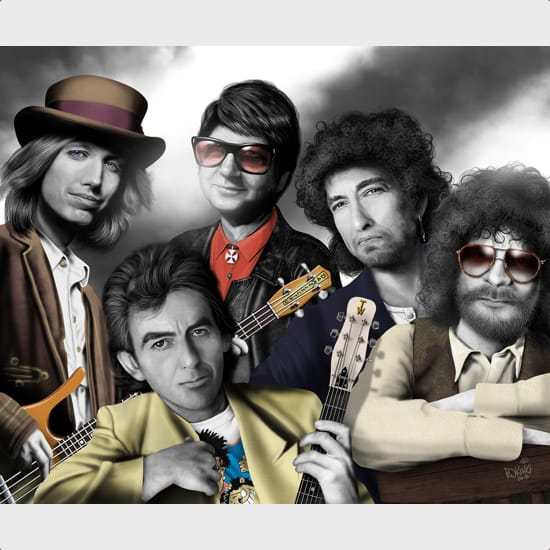 Traveling Wilburys MIDI files backing tracks karaoke MIDIs