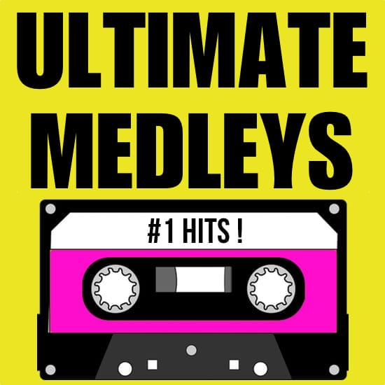 80's hits medley male artists vol 1 ultimate medleys midi file backing track karaoke