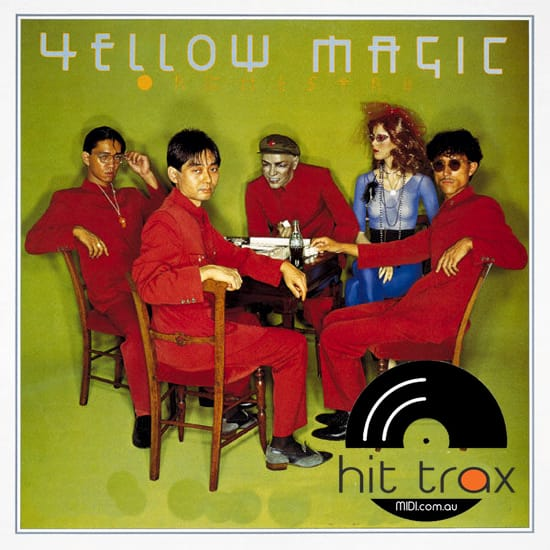 Yellow Magic Orchestra MIDI files backing tracks karaoke MIDIs